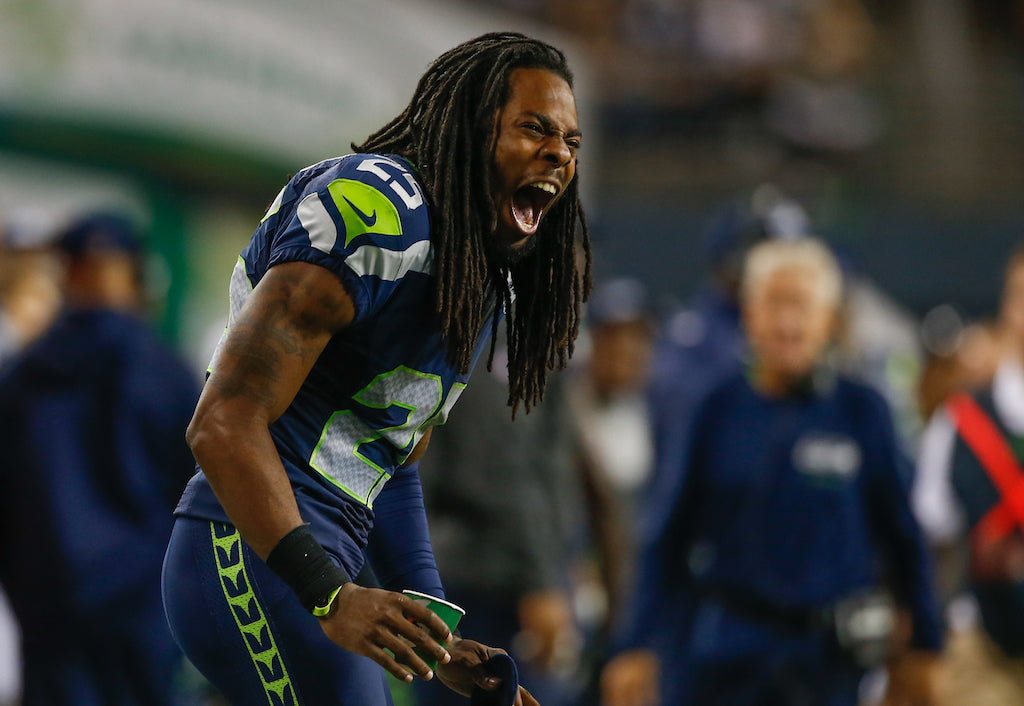 Prepping For The Pats | Richard Sherman