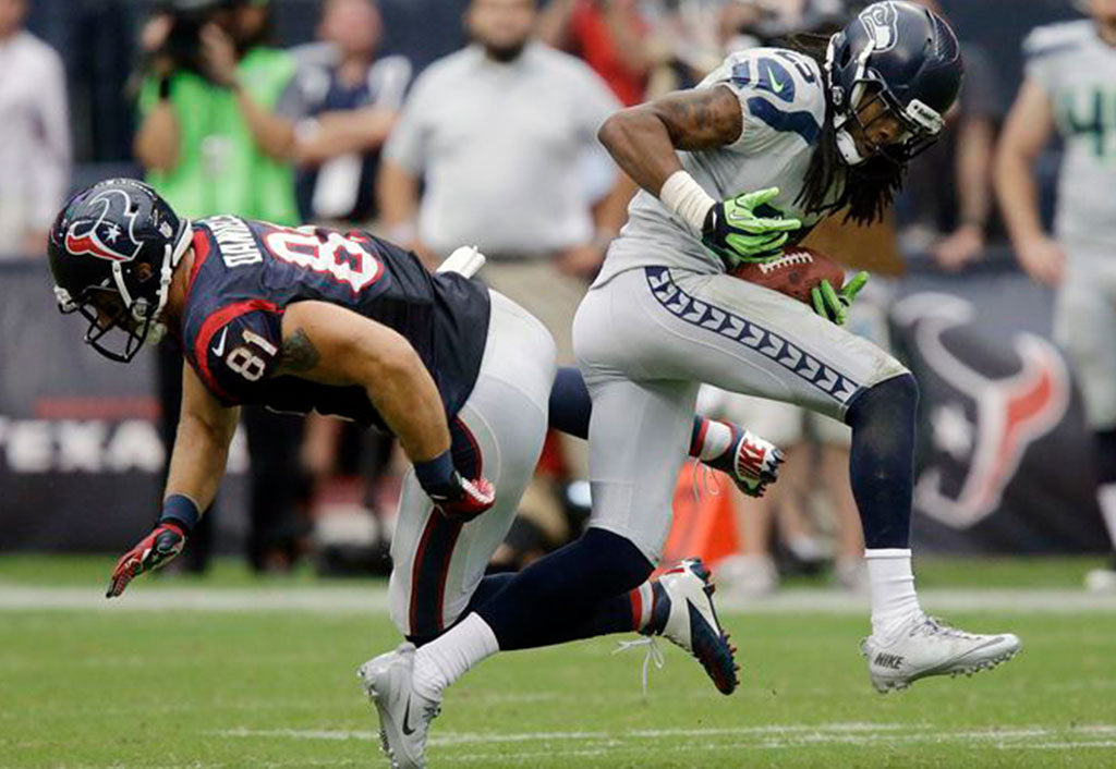Seahawks Take Lead After Sherman's Interception | Richard Sherman