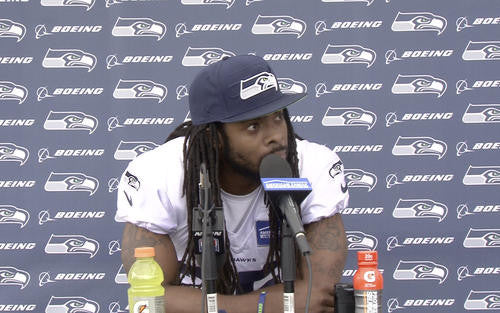 Richard Sherman Minicamp Press Conference | Richard Sherman