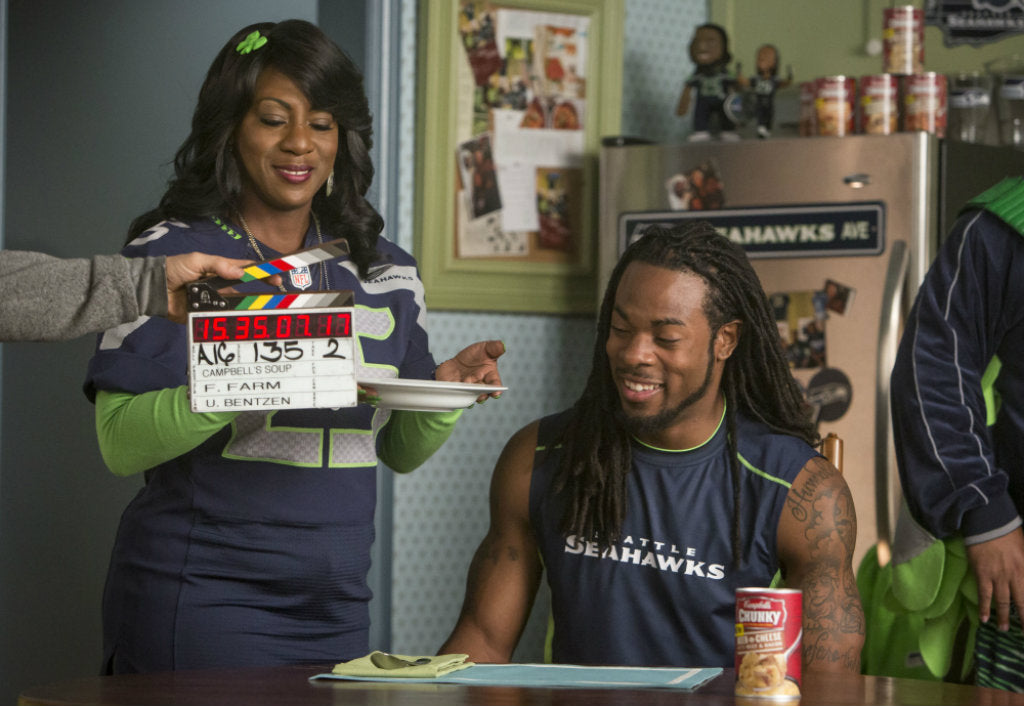 Campbells Chunky MamasBoy Bloopers | Richard Sherman