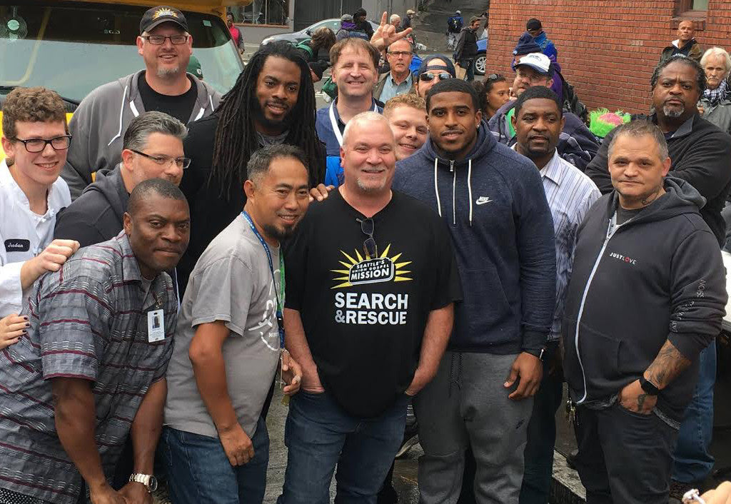 Blanket Coverage donated 600 backpacks and more | Richard Sherman