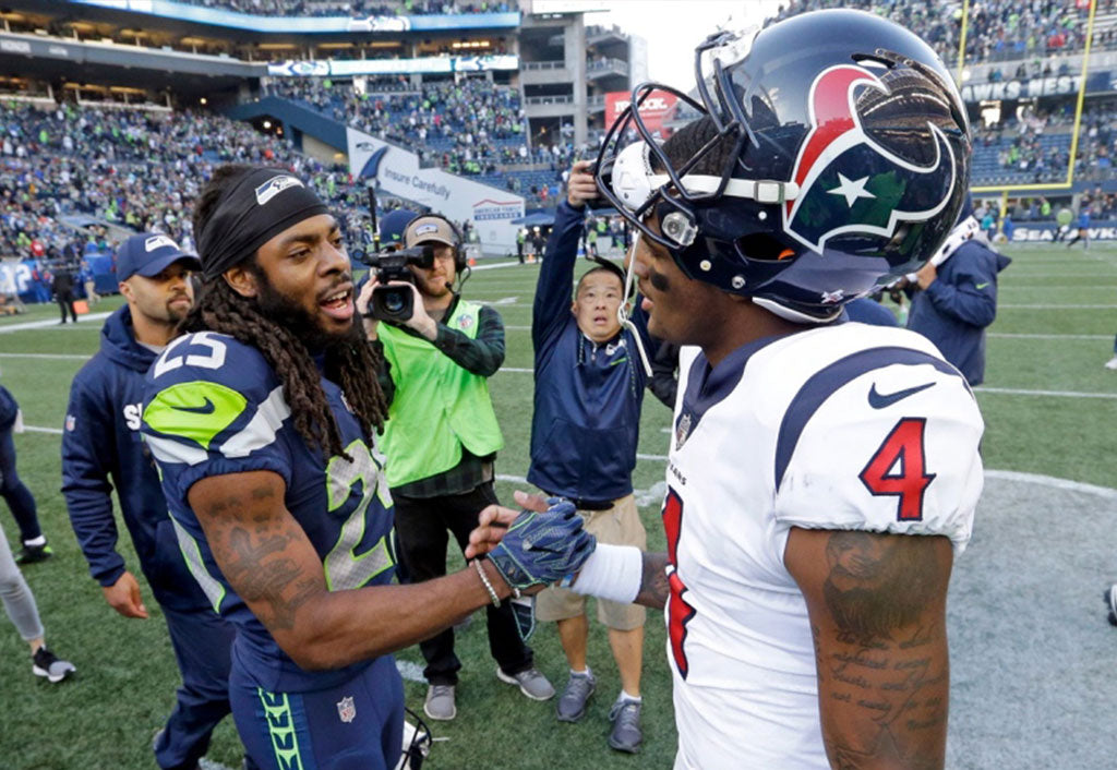 Richard Sherman Praises Houston's Watson | Richard Sherman