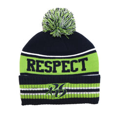 RS25 Respect Pom Beanie | Richard Sherman