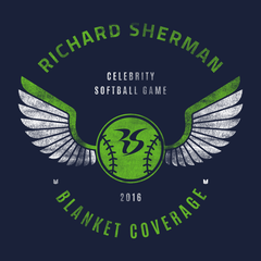 RS Celebrity Softball Tee | Richard Sherman