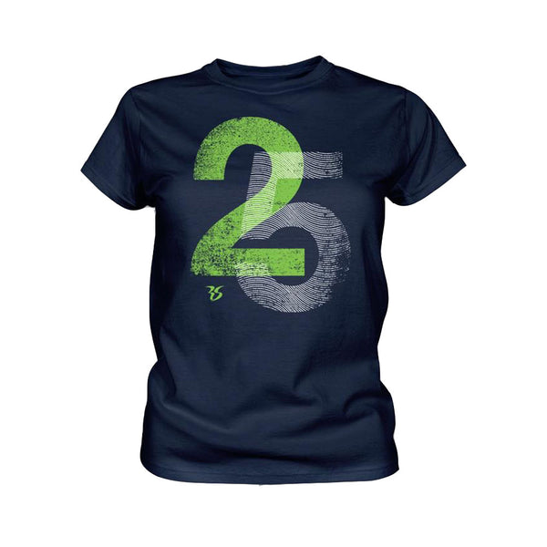 Womens Richard Sherman 25 Finger Print
