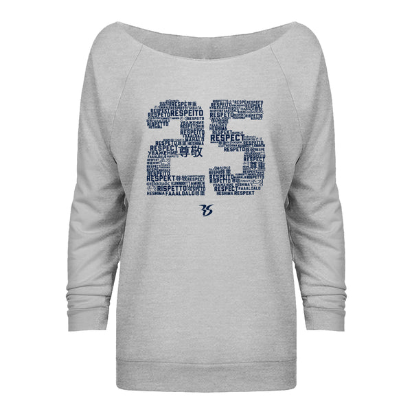 25 Respect Pullover