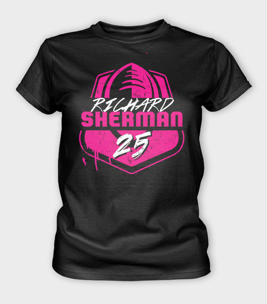 Team Sherman Women's BCA T-Shirt | Richard Sherman Gear
