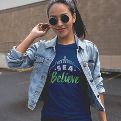 SEA Believe 2016 Women's Crew Tee | Richard Sherman