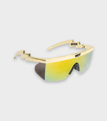 Gold Neff Brodie Shades | Richard Sherman