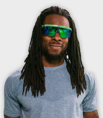 Green Neff Brodie Shades | Richard Sherman