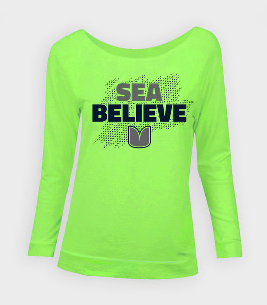 Sea Believe Women's Pullover | Richard Sherman Gear