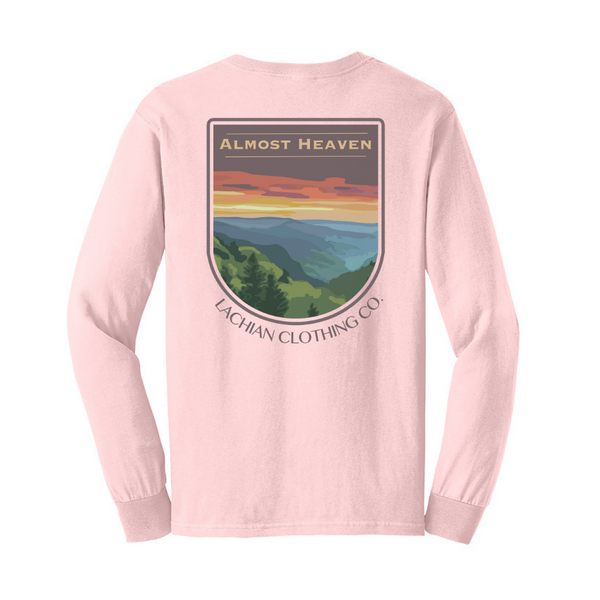 Almost Heaven Front and Back Long Sleeve