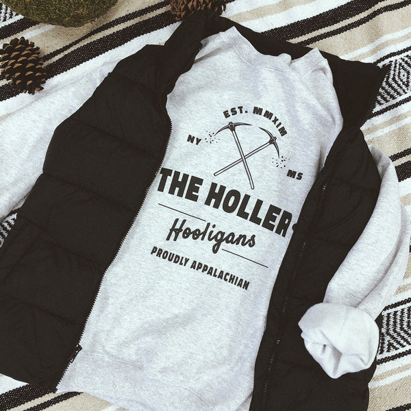 The Holler Hooligans Crewneck