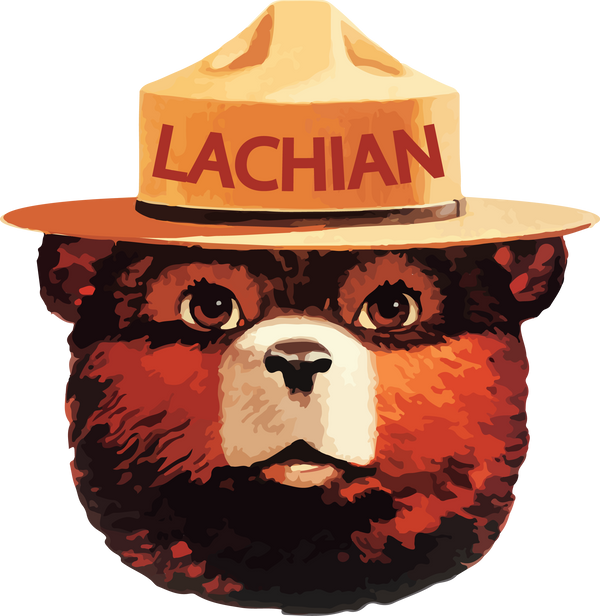 Lachian Bear Sticker