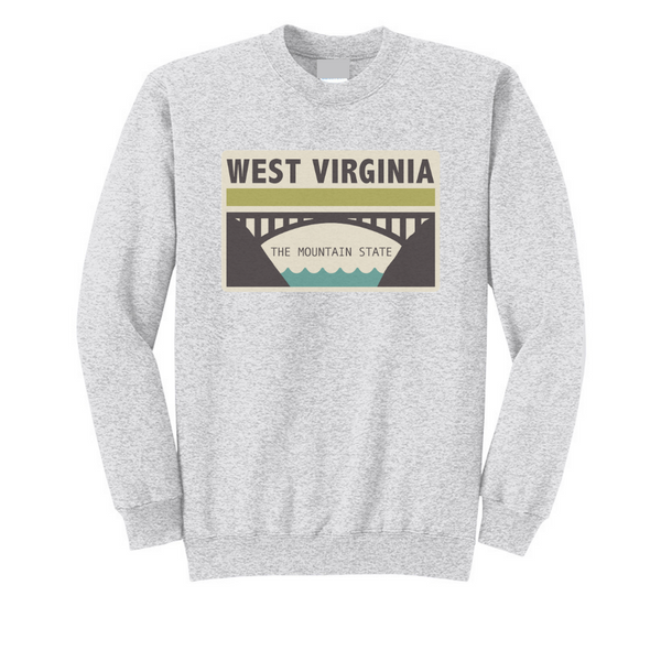 The Mountain State Crewneck