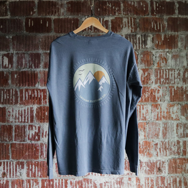 Appalachian Sunrise Long Sleeve Front and Back