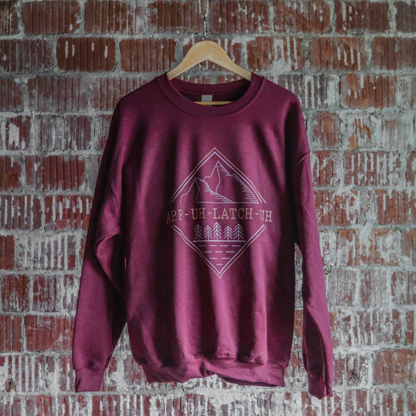 App-Uh-Latch-Uh Crewneck