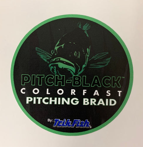 Pitch-Black Braid - Sticker (3in. x 3in.)