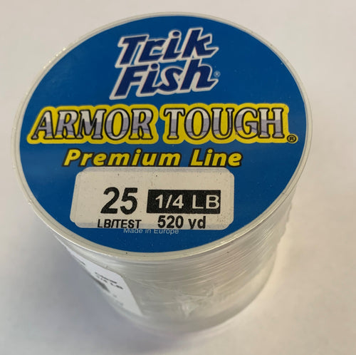 Armor Tough Monofilament - Clear (1/4LB)