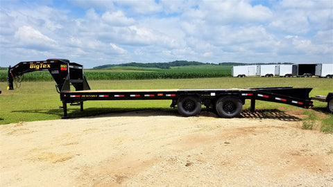 2020 Big Tex 22GN -HD 25ft Tandem Dual Axle Gooseneck