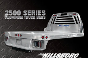 Hillsboro 2500 Series Aluminum Truck Bed-Single Wheel /Long Bed