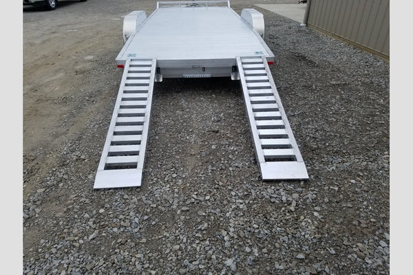 2019 Sport Haven 7x20 All Aluminum 10K Equipment Trailer