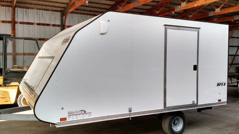 2016 Crossover 2 Place  Enclosed Snowmobile Trailer