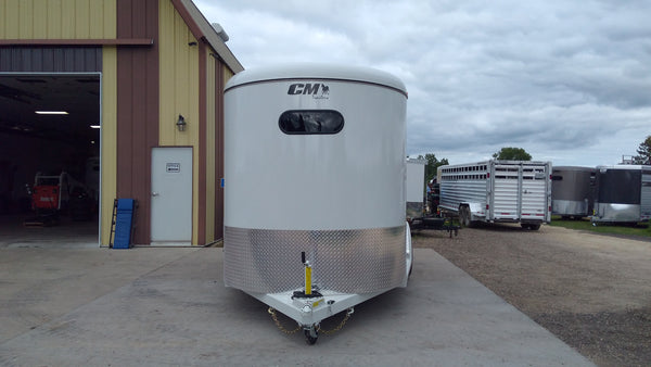 2018 CM Dakota 3 Horse Slant Trailer