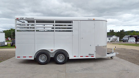 2018 CM Dakota 3 Horse Slant Trailer-Unit 26500