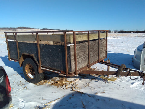 Home-Made 6' x 8' Utility Trailer