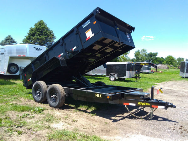 2019 Big Tex 14LX 14ft Dump Trailer SPECIAL!!