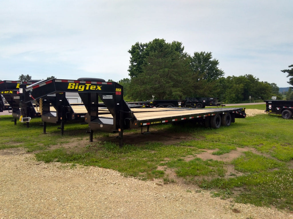 2019 Big Tex 22gn Hd 30ft Tandem Dual Axle Gn Frenchville Trailer Wiring Harness