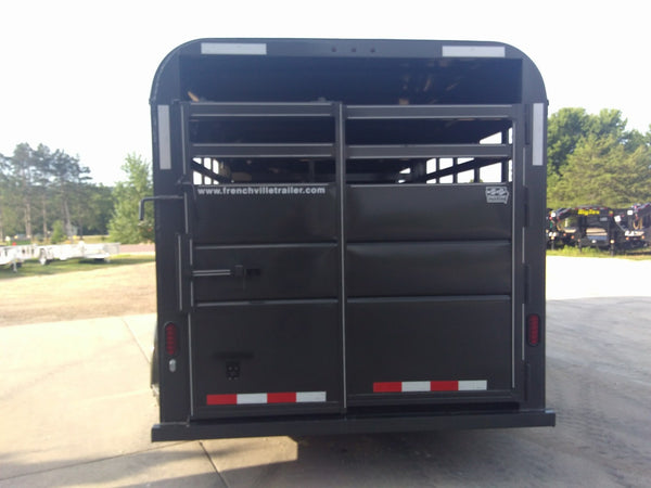 "2019 6'8"" X16 Livestock Trailer Wide option- Unit 15580"