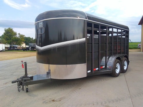 "2019 6'8"" X16 Livestock Trailer Wide option"