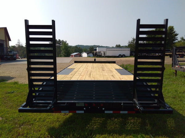 2019  Big Tex  14OA 20 Ft Deckover Bumper Pull- Unit 77733