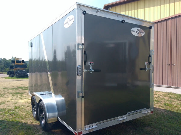2019 Sport Haven 7 x 14  x 7 Aluminum Enclosed Trailer- Unit 08476