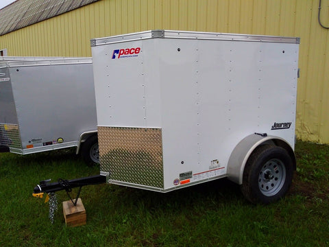 2019 Pace American 4 x 6 Enclosed Trailer