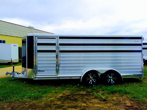 2019 Kiefer Low Pro Pen  System Trailer