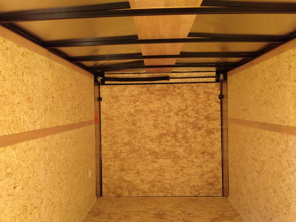 "2019 Pace American 7 x 14 x 6'6"" Enclosed Trailer-Unit 49005"