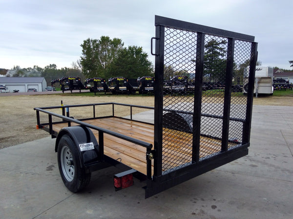 2020 Big Tex 30ES 5 x 8 Ramp Gate Utility Trailer-Unit 52837