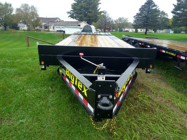 2019 Big Tex 14PH 25ft Pintle Hook with Mega Ramps-Unit 60120