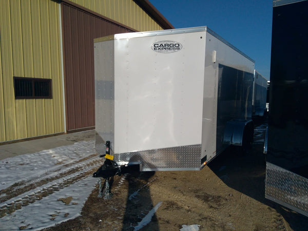 "2019 Cargo Express 7 x 16 x 6'6"" Enclosed Trailer"
