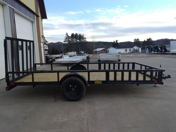 2019 Big Tex 35SA Utility Trailer 7 x 14 with ATV Sides-Unit 79694