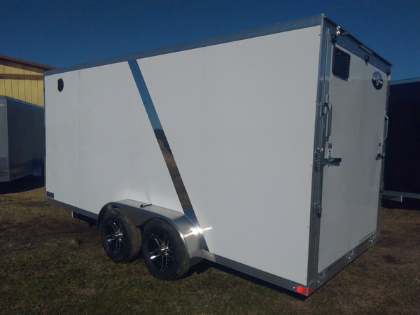 2019 Sport Haven 7 x 16 x 7 Aluminum Enclosed Trailer-Unit 08475