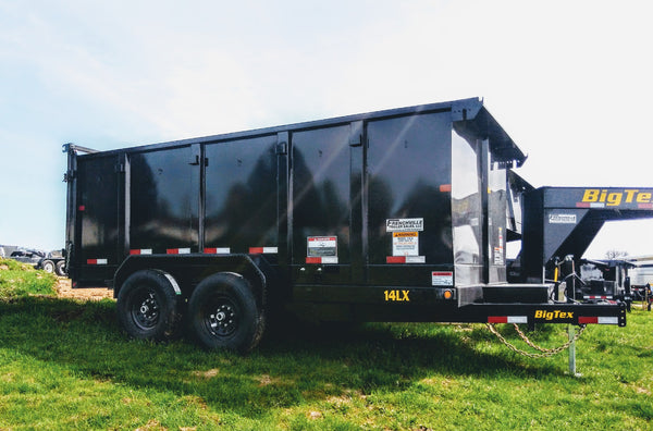 2020 Big Tex 14LX 14ft Dump Trailer with 4ft Sides