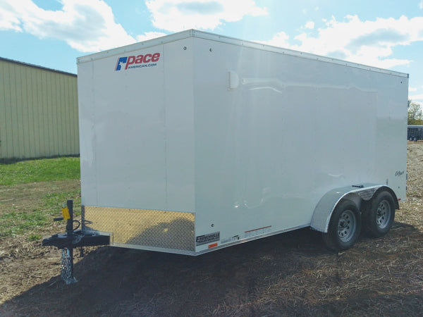 "2020 Pace American 7 x 14 x 6'6"" Enclosed Trailer- Unit 54739"