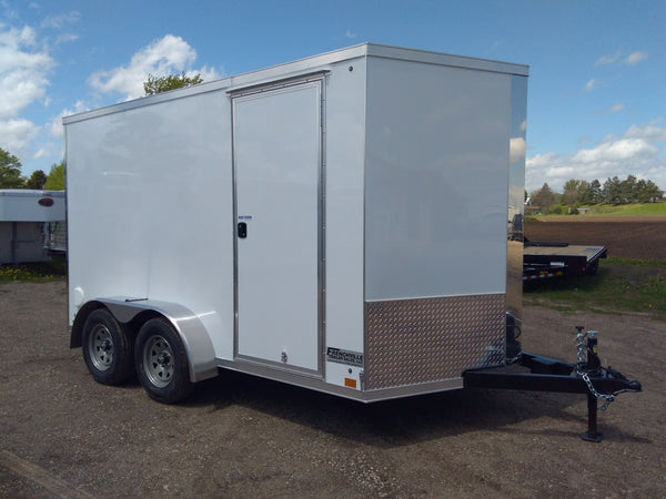 2020 Cross 7 x 12 Premium Enclosed Trailer-Unit 08050
