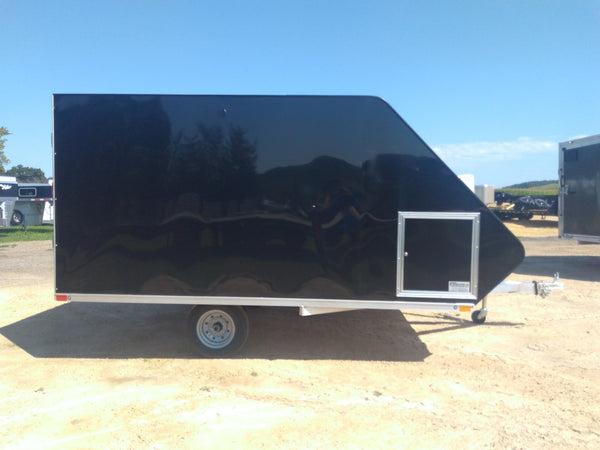 2020 Sport Haven 12' Hybrid Aluminum Enclosed Snow Trailer-Unit 09723