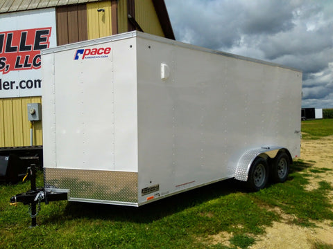 2020 Pace American 7 x 16 Enclosed Trailer -Unit 56180