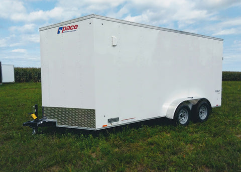 2020 Pace American 7 x 16 x 7 Enclosed Trailer-Unit 57086